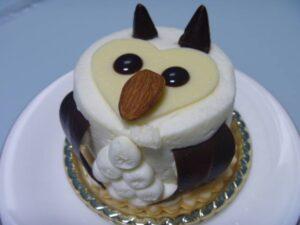 フクロウケーキ