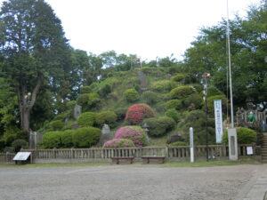 志木の田子山富士塚