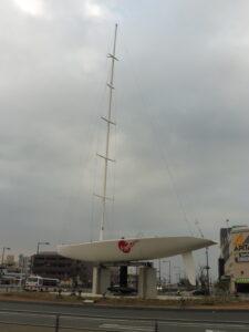 ヨットの街